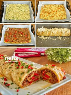 Meat chopped potatoes that will be the star of the invitation table - delicious recipes - Ana Yemek Tarifleri - Rezepte Best Dinner Recipes, Lunch Recipes, Delicious Recipes, Wie Macht Man, Lunch To Go, Vegetable Drinks, Iftar, Healthy Eating Tips, Potato Recipes