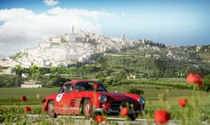 The Mille Miglia is promoted as a test of endurance, stretching from the northern Italian town of Brescia to Rome and back.