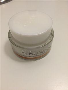 Avon Nutra effects - active seed complex Renewing cream - Night Creme Renovatrice #facecream #avon #makeup #pflege