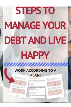Manage Your Debt And Live Happy | It is a great thing to clear your debt. But, you need to think that from where you are paying for the debt. Are you using up the money that you saved for your future? If this is the case, you will be on the losing side ev