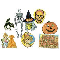 Halloween Decorama Party Accessory 1 count for sale online Beistle Halloween, Retro Halloween, Diy Halloween Costumes, Halloween Gifts, Halloween Ideas, Halloween Symbols, Halloween Flowers, Halloween Printable, Cheap Halloween