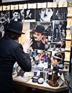 Farewell, Charlie! Rob McClure dons the mustache one final time on closing night of Broadway's CHAPLIN