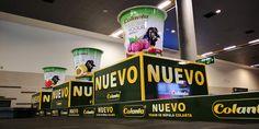 Publicidad impacto visual Aeropuerto El Dorado - Campaña Colanta - Efectimedios Innovation, Broadway Shows, Domestic Destinations, International Airport, Advertising