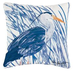 You'll love the Heron Indoor/Outdoor Throw Pillow at Wayfair - Great Deals on all Décor & Pillows products with Free Shipping on most stuff, even the big stuff.