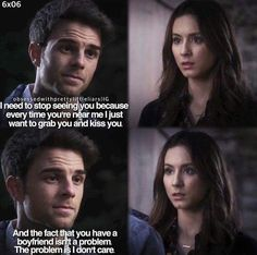 Omg I litterally made me cry cause spoby is my otp but this is so so sweet
