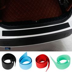 OKEEN Car Accessories Styling Mouldings Car Rear Bumper Plate Door Sill Scuff   Protective Sill Cover For ford focus vw passat