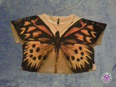 Clotheswap - monarch butterfly crop top Summer Styles, Monarch Butterfly, Crop Tops, Summer Looks, Style Summer, Summer Outfits, Summer Fashions, Cropped Tops, Crop Top Outfits