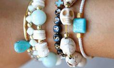Cómo hacer pulseras bonitas con abalorios // DIY bracelets