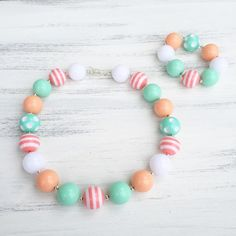 M2M Matilda Jane Bubblegum Necklace por KileysKornerBoutique