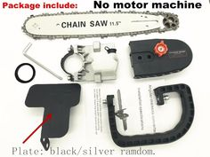 Reciprocating Saw Electric Saw Woodworking Attachment Chainsaw Fittings Set C#P5