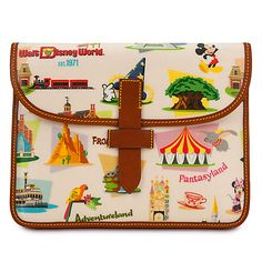 Walt Disney World tablet Case by Dooney & Bourke - Retro | Bags & Totes | Disney Store