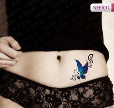 Ideas Tattoo Mujer Abdomen Tatuajes For Sexy Tattoos For Women, Tattoo Designs For Women, Tasteful Tattoos, Unique Tattoos, Mini Tattoos, Body Art Tattoos, Phoenix Tattoo Girl, Abdomen Tattoo, Belly Tattoos
