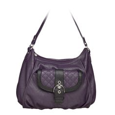 Grace Adele Lily Purple Bag with Leigh Purple Clutch $120