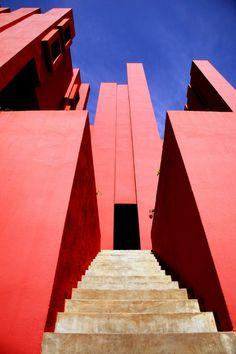 La Muralla Roja Architecture   Ricardo Bofill Taller de Arquitectura  Calpe Spain