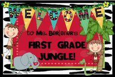 First Grade Fever!: jungle
