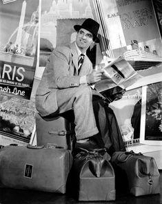 """Cary Grant en """"Vivir Para Gozar"""" (Holiday), 1938"""