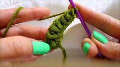leaf crochet tutorial,crochet,tığ işi yaprak modeli,kolay yaprak,easy leaf crochet