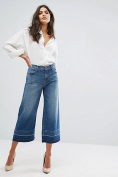 17bbee86119 Why You Should Buy Wide Leg Denim