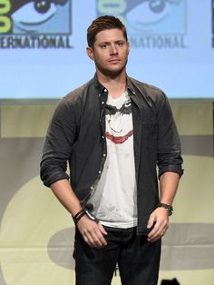 Pin for Later: The Hottest Pics of the Hottest Guys at Comic-Con This Year Jensen Ackles
