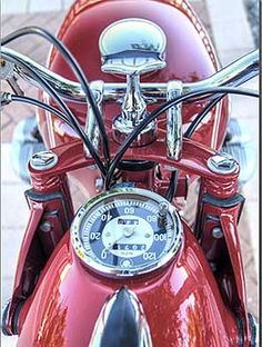 1954 BMW R69S Motorcycle - Beautiful!