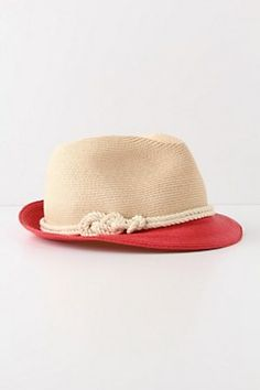 Eugenia Kim Hat... love the rope trim, perfect for summer