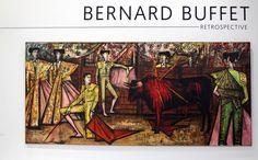 """""""La Corrida, Desplante de Rodillas"""", 1966 de Bernard BUFFET - Courtesy Fonds de dotation B. Buffet © Photo Éric Simon Du 14 octobre 2016 au 26 juillet 2017 Le Musée d'Art moderne de la Ville de Paris organise une rétrospective de l'œuvre de Bernard Buffet..."""