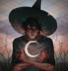 fantasy art Witch Boy by Vincent-Engelmann on DeviantArt Fantasy Character Design, Character Design Inspiration, Character Art, Character Concept, Art Anime, Anime Kunst, Manga Art, Kunst Inspo, Art Inspo