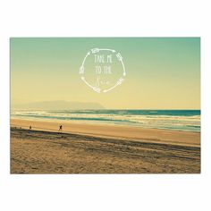 KESS InHouse Robin Dickinson 'Take Me to The Sea' Teal Brown Dog Place Mat, 13' x 18' *** See this great image  : Dog food container