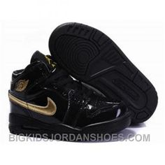 on sale ab967 9cd3a Air Jordan Kid s Nike Air Jordan 1 3 Shoes Black Gold For Sale from official  Nike Shop.