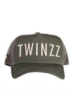 Twinzz - 3D Mesh Trucker - Khaki/Stone | Have you seen the latest snapbacks from Twinzz now available @ Urban Celebrity!? The only question is - which to choose? It's a toughie...