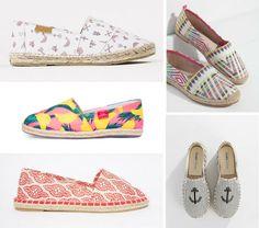 Summer is coming y nuestros pies quieren acercarse repitiendo un año más el calzado de moda: las alpargatas.