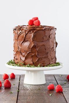 Six glorious layers of vanilla cake with raspberry sauce and a  Mein Blog: Alles rund um die Themen Genuss & Geschmack  Kochen Backen Braten Vorspeisen Hauptgerichte und Desserts