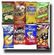 Bluebird, Eta, Krispa chips