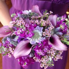 less purple, more red and orange Lily Bouquet, Cascade Bouquet, Flower Bouquet Wedding, Lilac Wedding, Floral Wedding, Dream Wedding, Mauve, Colorful Centerpieces, Floral Bouquets