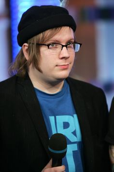 2007 - The Still Too Cool For TRL Beanie | The Definitive Timeline Of Every Hat Fall Out Boys Patrick Stump HasWorn