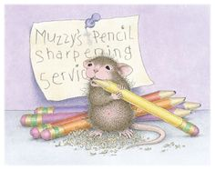 Muzzy from House-Mouse Designs®. Click on the image to see all of the very mice products that this image is available on.