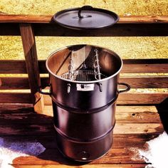 Pit Barrel Cooker  Do you know what is vertical cooking? Neither do we, but we are about to find out thanks to Pit Barrel Cooker. This is a combination of a smoker, slow cooker and barbecue, all...
