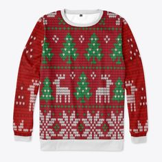 Ugly Christmas Sweaters For Sale Products from #YourMerryChristmasStore | Teespring Christmas Store, Christmas Shopping, Keep Shopping, Ugly Christmas Sweater, Being Ugly, Tote Bag, Products, Fashion, Moda