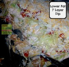 7 Layer Dip – Low Fat I have always loved dips on football game nights but trying to get healthy and lose a few of these extra pounds meant I had to avoid that. Until now that is! This 7 Layer Dip – Low Fat brings all of your favorites to the table without the […]