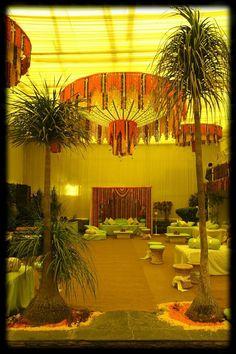 Mehendi or pooja decor