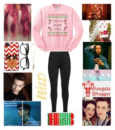 """7 Days till Christmas!!!!"" by oliviacoulanges ❤ liked on Polyvore featuring Manic Panic, Studio, Bobbi Brown Cosmetics and Roberto Cavalli"