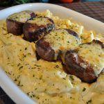 Filé Mignon ao molho de queijo | Devo Cozinhar