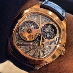 Piaget Emperador cushion-shaped watch in rose gold
