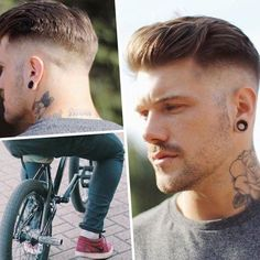 Most popular male haircuts 2017 - http://trend-hairstyles.ru/554.html #Hairstyles #Haircuts #promhairstyles #Hair