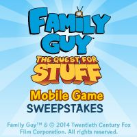 I just entered the Family Guy: Quest for Stuff sweepstakes to become a playable character in the mobile game! Watch Family Guy Sundays on FOX.