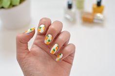 DIY Pineapple Nail Art | eHow
