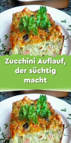 Zucchini Auflauf der süchtig macht Ingredients For the casserole: 3 coarsely grated, unshelled zucchini 2 pieces of finely diced onions 4 pieces of eggs 250 … Healthy Soup Recipes, Brunch Recipes, Breakfast Recipes, Vegan Recipes, Zucchini Casserole, Healthy Protein, Food Inspiration, Food Porn, Food And Drink