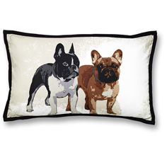 French Bulldog Pillow by Hemtex