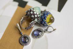 Elena Okutova jewelry Artichoke ring