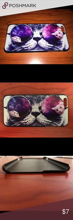 NEW LISTINGIPHONE 6 PLUS 6s PLUS CAT CASE not sure if the cutout for the camera will fit on the 7 plus Accessories Phone Cases